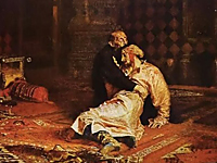 Ivan the Terrible and his Son at the Tretyakov Gallery in Moscow